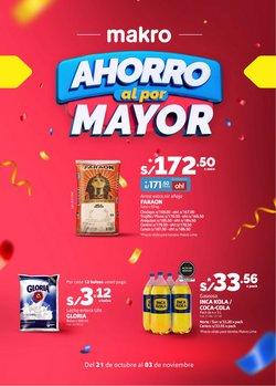 Ofertas de Supermercados en el catálogo de Makro ( Publicado ayer)