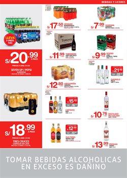 Ofertas de Bebidas alcohólicas  en el folleto de Makro en Arequipa