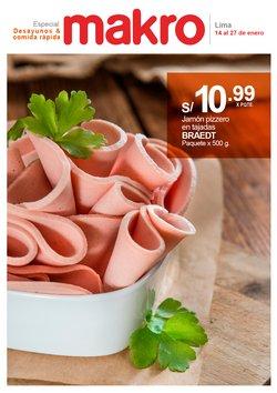 Ofertas de Supermercados en el catálogo de Makro en Huánuco ( 7 días más )