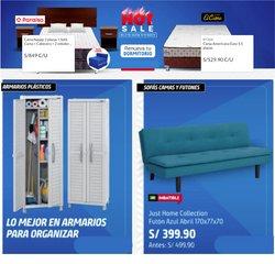 Ofertas de Hogar y muebles en el catálogo de Sodimac ( Vence mañana)