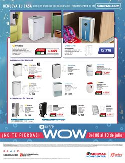 Ofertas de Sodimac Homecenter  en el folleto de Chiclayo