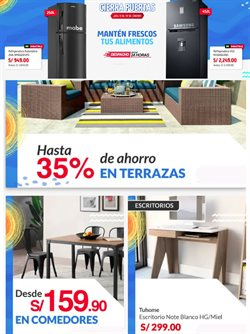 Ofertas de Hogar y muebles en el catálogo de Sodimac en Lima ( Publicado ayer )