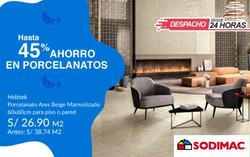 Cupón Sodimac en Arequipa ( 9 días más )
