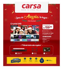 Ofertas de Tecnología y Electrónica en el catálogo de Carsa en Trujillo ( Caduca mañana )