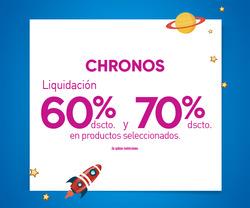 Ofertas de Chronos  en el folleto de Lima