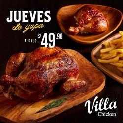 Catálogo Villa Chicken & Grill ( 3 días más)