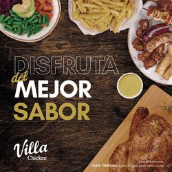 Catálogo Villa Chicken & Grill ( Más de un mes)
