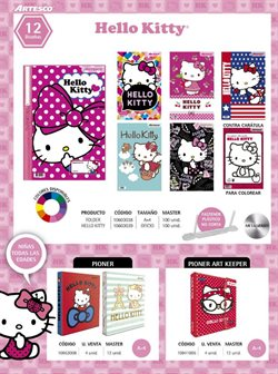 Ofertas de Hello Kitty  en el folleto de Artesco en Lima