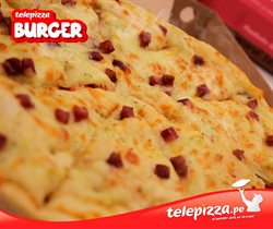 Ofertas de Comida rápida  en el folleto de Telepizza en Lima