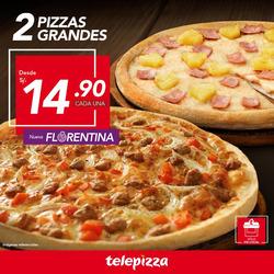 Ofertas de Telepizza  en el folleto de Lima