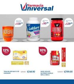 Catálogo Farmacia Universal ( 7 días más)