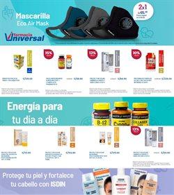 Ofertas de Salud y Farmacias en el catálogo de Farmacia Universal ( 11 días más )