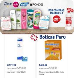 Ofertas de Salud y Farmacias en el catálogo de Boticas Perú ( Vence mañana)