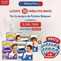 Ofertas de Salud y Farmacias en el catálogo de Boticas Perú ( 9 días más)