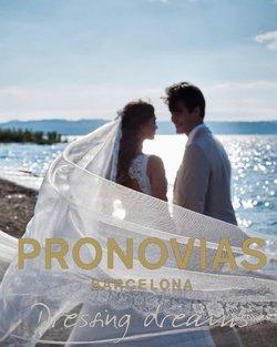 Ofertas de Pronovias en el catálogo de Pronovias ( Más de un mes)