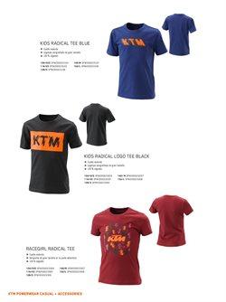 Ofertas de Camiseta manga corta en KTM