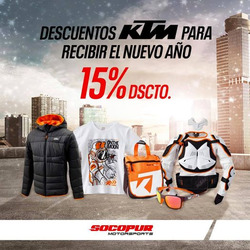 Cupón KTM en Lima ( 14 días más )