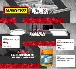 Ofertas de Ferretería y Construcción en el catálogo de Maestro ( 3 días más)