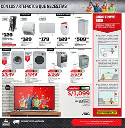 Ofertas de Smart tv  en el folleto de Maestro en Lima