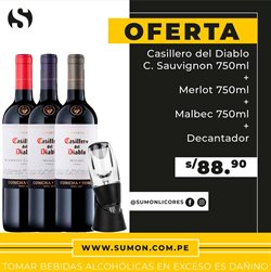 Ofertas de Supermercados en el catálogo de Sumon Licores en Huánuco ( 11 días más )