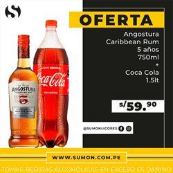 Ofertas de Coca-Cola en Sumon Licores