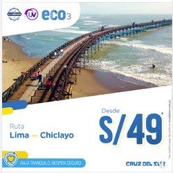 Ofertas de Viajes y ocio en el catálogo de Cruz Del Sur ( 2 días más)