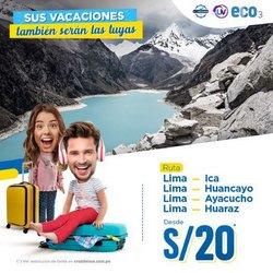 Ofertas de Viajes y ocio en el catálogo de Cruz Del Sur ( 19 días más)