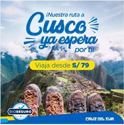 Ofertas de Viajes y ocio en el catálogo de Cruz Del Sur en Huacho ( 4 días más )