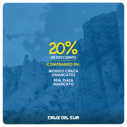 Ofertas de Cruz Del Sur  en el folleto de Lima