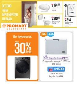 Ofertas de Promart en el catálogo de Promart ( 9 días más)