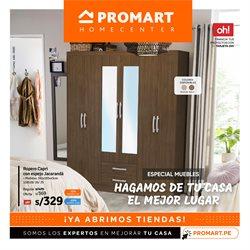 Ofertas de Hogar y muebles en el catálogo de Promart en Huánuco ( Caducado )