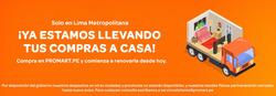 Cupón Promart en Chiclayo ( Caduca hoy )