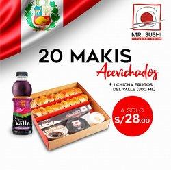 Ofertas de Restaurantes en el catálogo de Mr. Sushi ( 3 días más)