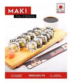 Ofertas de Restaurantes en el catálogo de Mr. Sushi ( 5 días más)