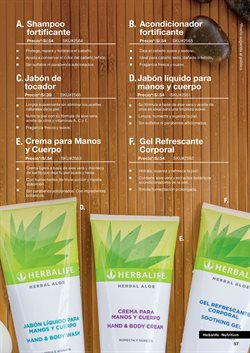 Ofertas de Jabón de tocador en Herbalife