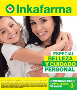 Ofertas de Salud y Farmacias en el catálogo de InkaFarma en Huacho ( 6 días más )