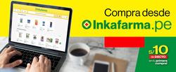 Ofertas de Farmacias y Ópticas  en el folleto de InkaFarma en Ayacucho