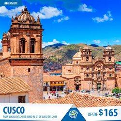 Ofertas de Viajes a Perú  en el folleto de Costamar en Lima