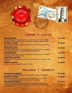 Ofertas de Il Postino Ristorante  en el folleto de Lima