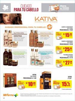 Ofertas de Kativa  en el folleto de Boticas Arcángel en Lima