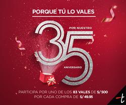 Ofertas de TopItop  en el folleto de Lima