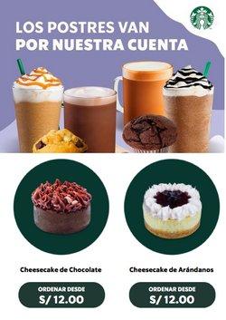 Ofertas de Restaurantes en el catálogo de Starbucks ( Vence hoy)