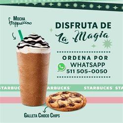 Catálogo Starbucks en Chiclayo ( Caduca mañana )