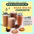 Ofertas de Restaurantes en el catálogo de Starbucks en Huánuco ( Caduca mañana )