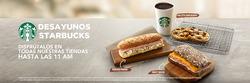 Ofertas de Starbucks  en el folleto de Lima
