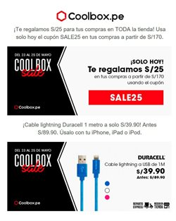 Ofertas de Open Plaza Chiclayo  en el folleto de Coolbox en Chiclayo