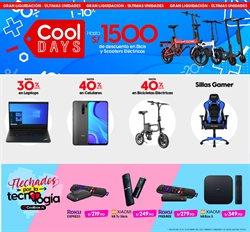 Ofertas de Tecnología y Electrónica en el catálogo de Coolbox en Arequipa ( Publicado ayer )