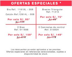 Ofertas de Leonisa  en el folleto de Lima