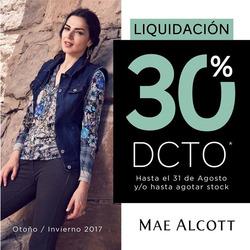 Ofertas de Mae Alcott  en el folleto de Lima