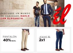 Ofertas de Ropa, zapatos y complementos en el catálogo de Tiendas Él en San Vicente de Cañete ( Publicado hoy )